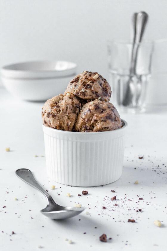 Almond Dark Chocolate Nice Cream