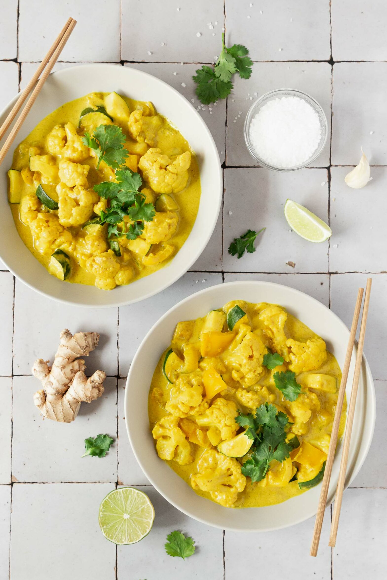 Quick Yellow Vegetable Curry